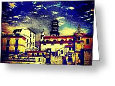 Enraptured By Amalfi Greeting Card by H Hoffman