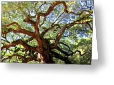 Entangled Beauty Greeting Card by Karen Wiles