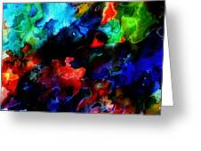 Entangled Colour Greeting Card