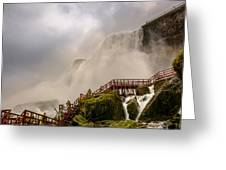 Enter The Mist Greeting Card