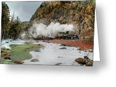 Entering Cascade Canyon Greeting Card