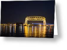 Entering Duluth Harbor Greeting Card
