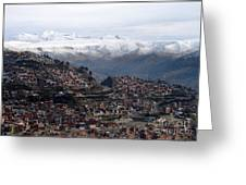 Entering La Paz Greeting Card