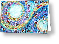 Enterprise Greeting Card by Diana Almand