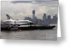 Enterprise To The Intrepid Air And Space Museum Greeting Card