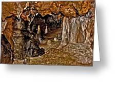 Entrance. Florida Caverns. Greeting Card