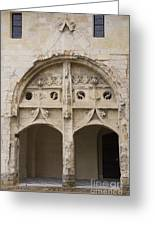 Entrance Fontevraud Abbey- France Greeting Card