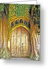 Entrance To Middle Earth Greeting Card