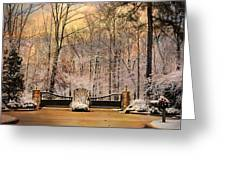Entrance To Winter Greeting Card