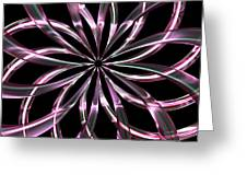 Entwine Violot Greeting Card