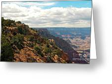 Environment Of The Canyon Greeting Card