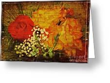 Envoi De Fleurs Greeting Card