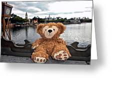 Epcot Bear Greeting Card