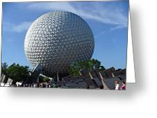 Epcot Centre Greeting Card