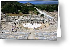 Theater Of Ephesus Greeting Card