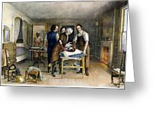 Ephraim Mcdowell, 1809 Greeting Card