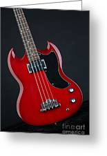 Epiphone Sg Bass-9189 Greeting Card