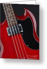 Epiphone Sg Bass-9193 Greeting Card