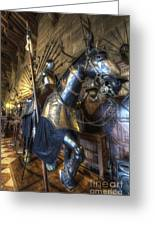 Equestrian Armour Greeting Card