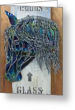 Equus Glass Co. Greeting Card