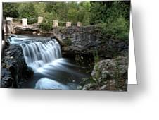 Eramosa River Rockwood On Greeting Card