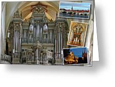 Erfurt Organ Montage Greeting Card