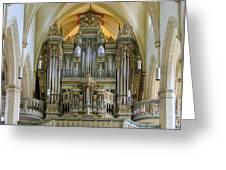Erfurt Pipe Organ Greeting Card