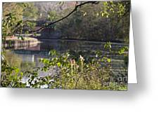 Erie Canal At Bushnell Basin Greeting Card