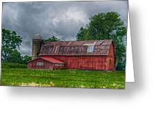 Erie County Barn 03452 Greeting Card