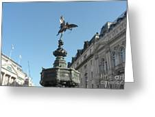 Eros At Piccadilly Greeting Card