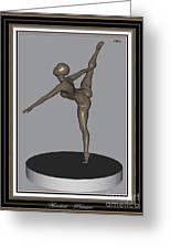 erotic acrobatics 11EA 2 Greeting Card by Pemaro