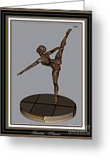 erotic acrobatics 13EA 2 Greeting Card