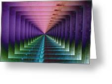 Erratic Portal Greeting Card