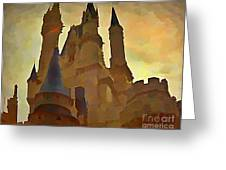 Errie Castle Greeting Card
