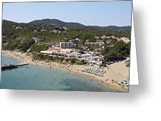 Es Figueral Beach And The Invisa Hotels Greeting Card