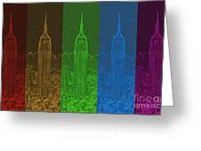 Esb Spectrum Greeting Card
