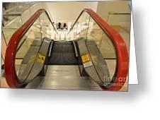 Escalator 553h Greeting Card