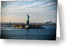 Escape From Ny Greeting Card