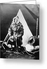 Eskimo Woman Greeting Card
