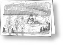 Esopus Lighthouse Greeting Card