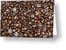 Espresso Beans Greeting Card