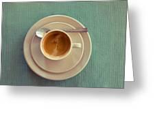 Espresso Greeting Card