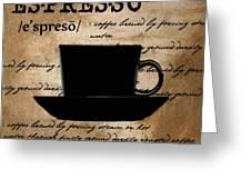 Espresso Madness Greeting Card