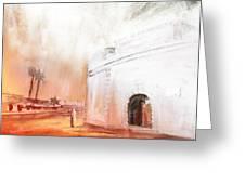 Essaouira Town Greeting Card
