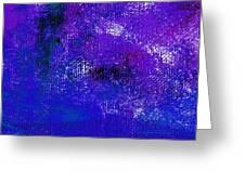 Essay Star Blue Purple Greeting Card
