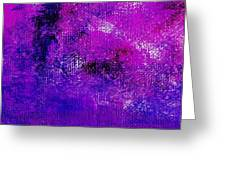 Essay Star Pink Blue Greeting Card