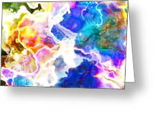 Essence - Abstract Art Greeting Card