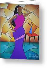 Essence Of A Woman II Greeting Card