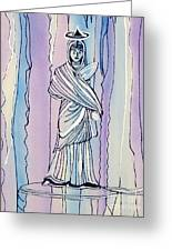 Essence Of Greece Greeting Card