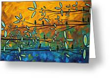 Essence Of Life By Madart Greeting Card